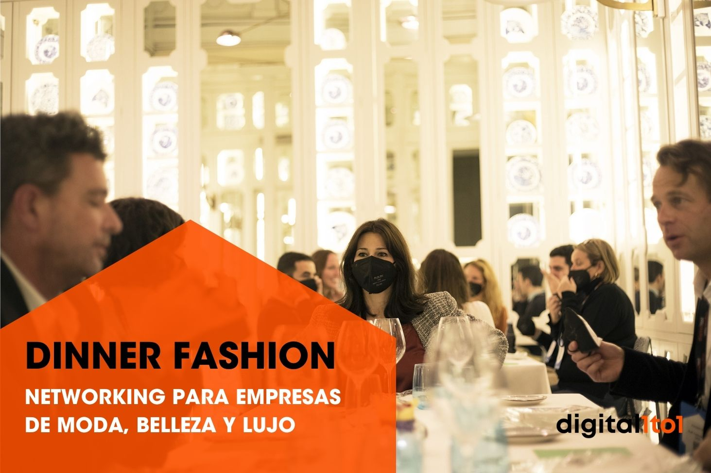 dinner fashion networking empresas moda belleza lujo